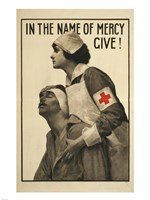 In the Name of Mercy Give! Fine Art Print