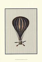 Vintage Ballooning II Fine Art Print