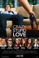 Crazy, Stupid, Love. Framed Print