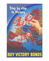Step by Step to Victory Fine Art Print