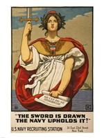 Kenyon Cox WWI Poster Fine Art Print