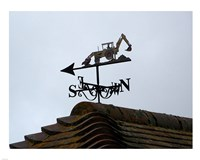 Weathervane, Upper Mannington Fine Art Print