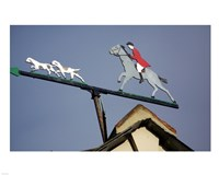 Horse and Rider Weathervane - various sizes