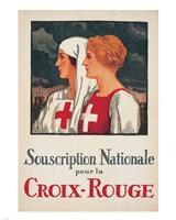 Jules Courvoisier - Souscription Croix-Rouge Fine Art Print
