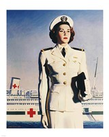 Navy Nurse Fine Art Print