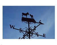 Donkey Lovers Weathervane Fine Art Print