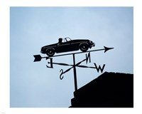 Automotive Weathervane Fine Art Print