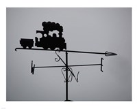 Train Weathervane Fine Art Print