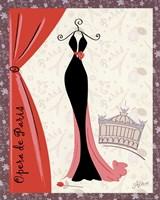 Opera De Paris Fine Art Print