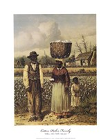 Cotton Picker Family Fine Art Print