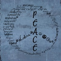 Peace Sign Fine Art Print