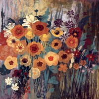 "Floral Frenzy I by Alan Hopfensperger - 18"" x 18"""