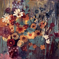 "Floral Frenzy II by Alan Hopfensperger - 18"" x 18"""
