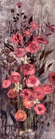 "Pink Floral Frenzy IV by Alan Hopfensperger - 8"" x 20"""