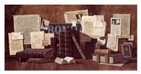 "Old Letters by Dean Millman - 17"" x 9"""
