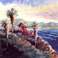 Laguna Gazebo Fine Art Print