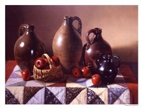 "Patchwork by Daniel K. Tennant - 17"" x 13"" - $11.99"