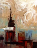 """Tower In The City I by Pablo Esteban - 11"""" x 14"""" - $10.49"""