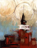 """Tower In The City II by Pablo Esteban - 11"""" x 14"""""""