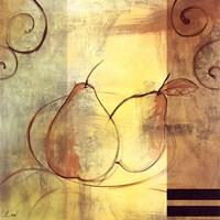 """Pears by Pablo Esteban - 12"""" x 12"""""""