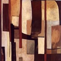 "Brown And Soft I by Pablo Esteban - 12"" x 12"", FulcrumGallery.com brand"