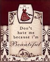 "Don't Hate Me by Jennifer Pugh - 8"" x 10"""