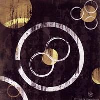 "Circles II by Jennifer Pugh - 6"" x 6"""