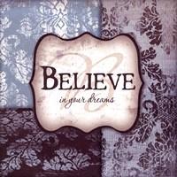 "Believe by Jennifer Pugh - 12"" x 12"", FulcrumGallery.com brand"