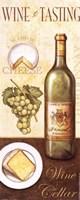 "Wine Tasting II by John Zaccheo - 4"" x 10"""