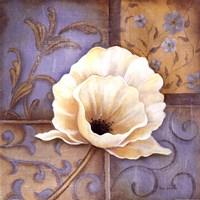 "White Poppy by Kim Lewis - 12"" x 12"""