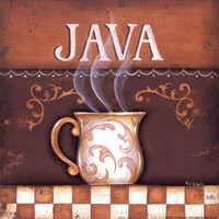 "Java by Kim Lewis - 6"" x 6"", FulcrumGallery.com brand"