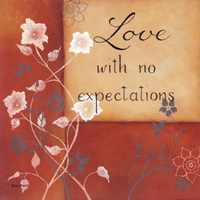 """Expectations by Kim Lewis - 12"""" x 12"""", FulcrumGallery.com brand"""