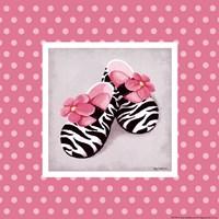Wild Child Dress Shoes Framed Print