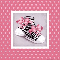 Wild Child High Tops Fine Art Print