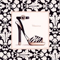 Glamorous Shoe Framed Print
