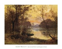 River at Dusk Fine Art Print