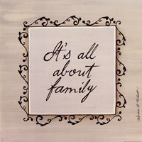 About Family Fine Art Print