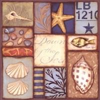 "Down By The Sea by Stephanie Marrott - 12"" x 12"""
