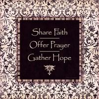"""Share Faith by Stephanie Marrott - 12"""" x 12"""""""