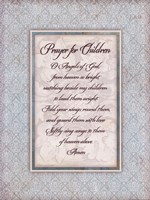 "Prayer for Child by Stephanie Marrott - 12"" x 16"""