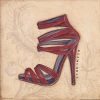 Glamorous Red Heel Fine Art Print