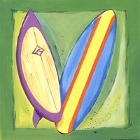 Surf Boards Fine Art Print