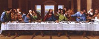 Last Supper - Panel Framed Print