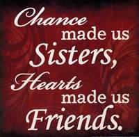 "Sisters & Friends by Lauren Rader - 12"" x 12"""