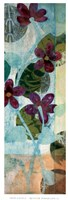 "Quilted Perfoliata II by Erin Galvez - 13"" x 38"""