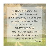 The Lord is my Shepherd - various sizes