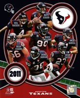 Houston Texans 2011 Team Composite Fine Art Print