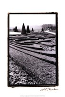 "Palace of Versailles Garden II by Laura Denardo - 13"" x 19"""