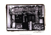 "Cafe Charm, Paris II by Laura Denardo - 19"" x 13"""