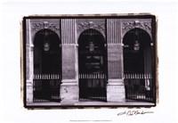 Parisian Archways III Framed Print